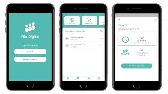 Aplicativo de fila digital permite que usuário saia de casa apenas no horário de atendimento