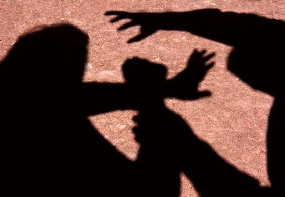 Mulher foi agredida pelo namorado.
