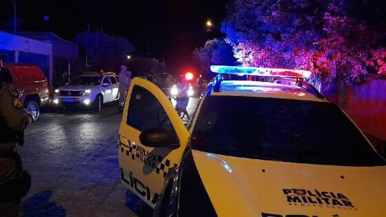 Polícia Militar prendeu o homem em flagrante.