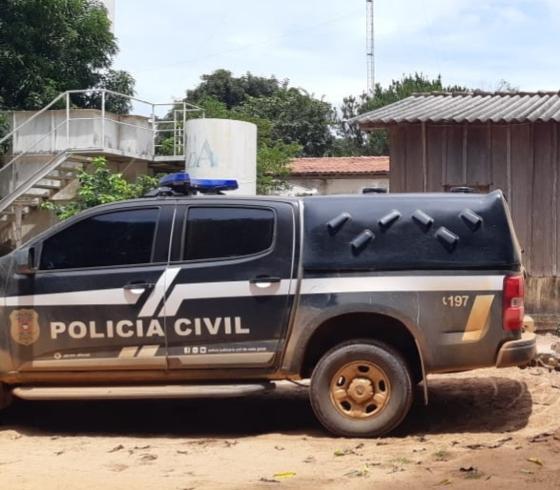 O pai estuprador foi preso em Sorriso, pela Polícia Civil.