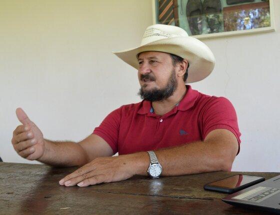 Gilberto Cattani é pecuarista em Mato Grosso