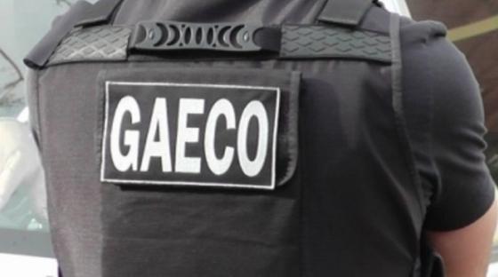 Operação foi realizada pelo Gaeco na manhã desta quinta-feira