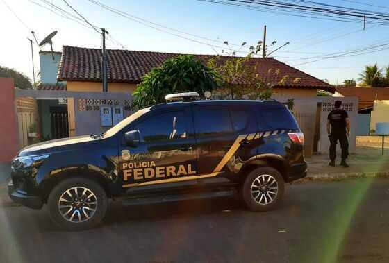 Polícia Federal cumpriu mandados em Rondonópolis